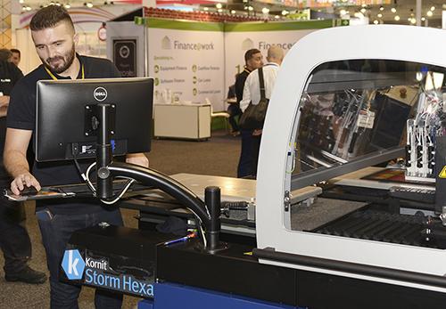 Kornit Storm Hexa Printer