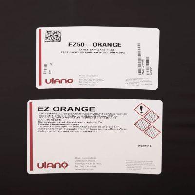 Ez-50 Orange Film for Imprinted Sportswear